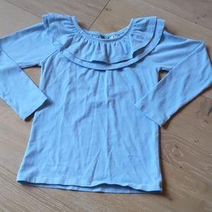 Matilda Jane ruffle neck shirt (sz 6)
